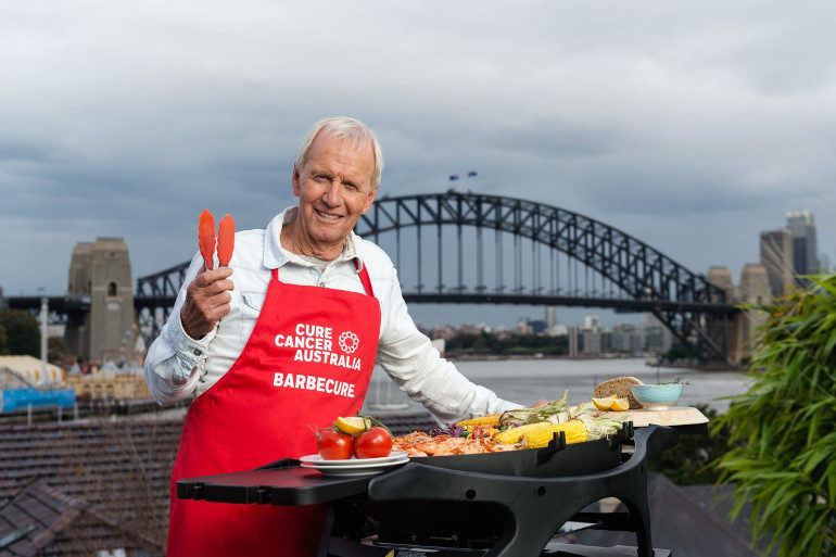 Paul Hogan Barbecue Cure Cancer