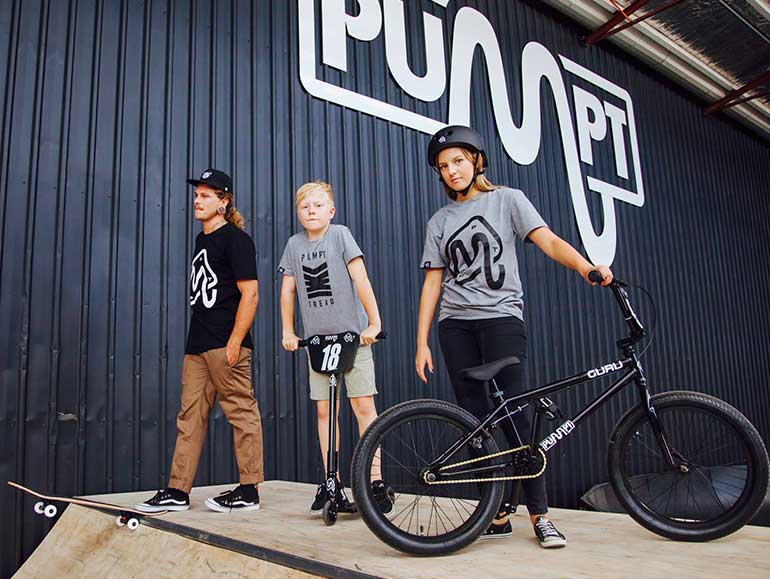 Pumpt things to do with kids Adelaide