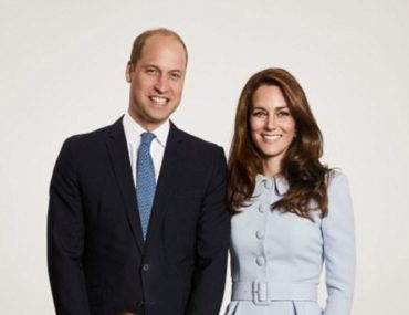 royal Christmas photo Prince William and Kate