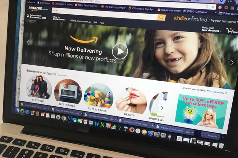 Amazon Australian launch