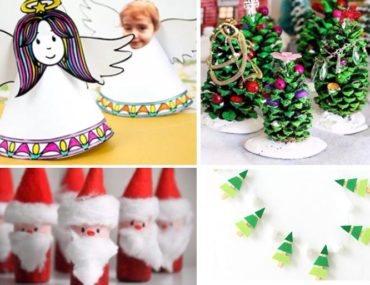 cute christmas crafts for kids 2017