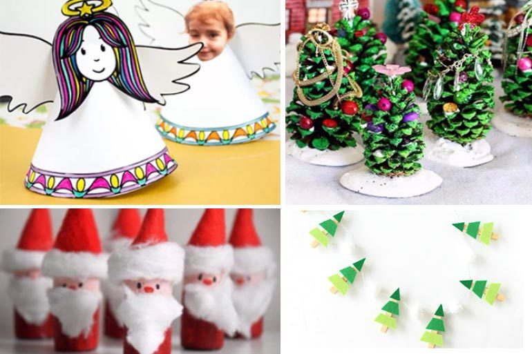 Cute Christmas Ideas For Kids.9 Cute Christmas Crafts For Kids That Are Super Easy To Do