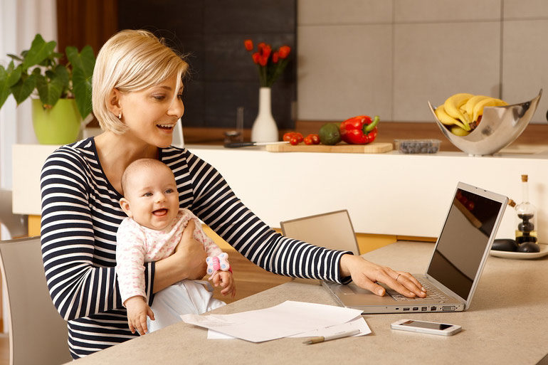 Study during maternity leave