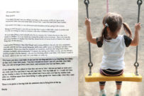 childcare shaming letter