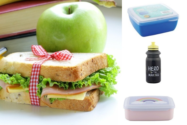 back to school bargains lunch boxes and water bottles