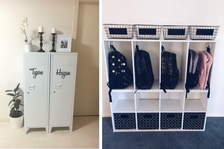 The brilliant kmart school bag storage hacks every mum needs