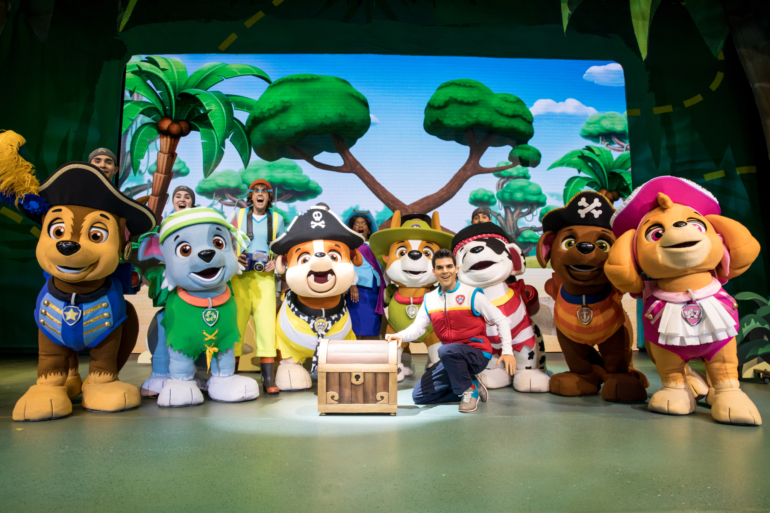 Still image from PAW Patrol Great Pirate Adventure 2