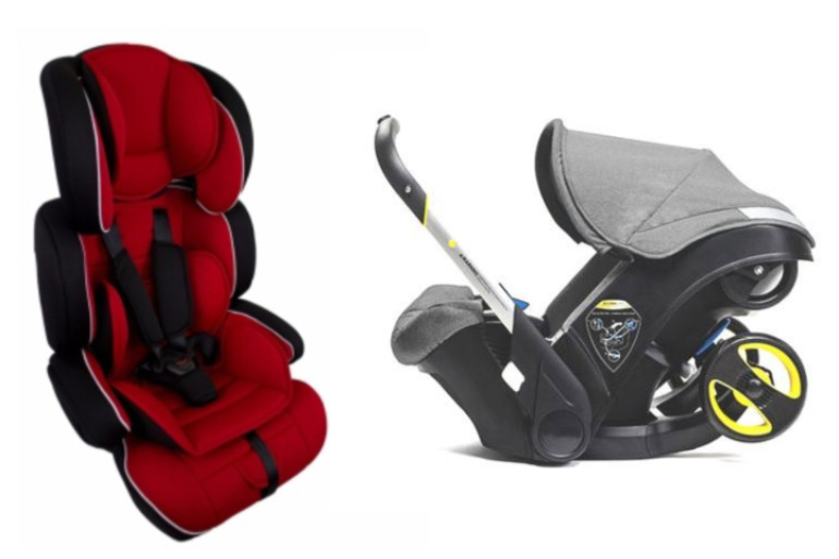 Saint Constance car baby seat and pram seat recall