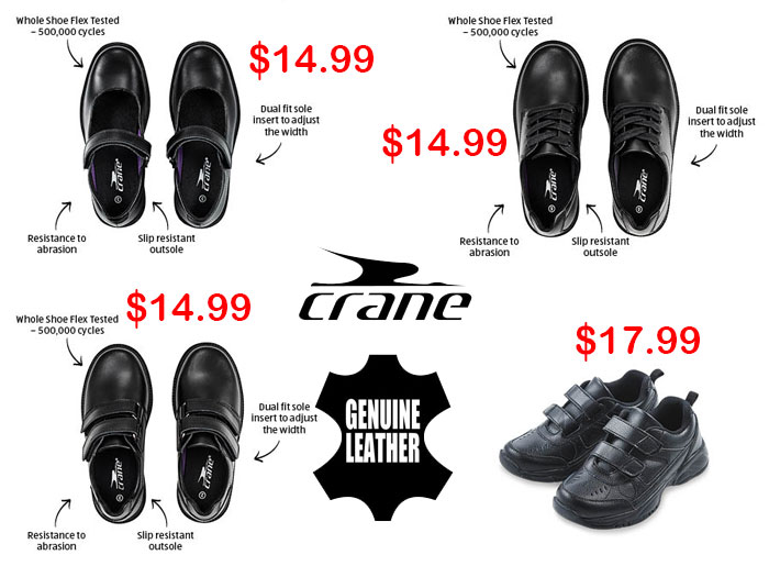 It s ALDI Back to School Sale Week with Leather Shoes under  20! 219252d867ff