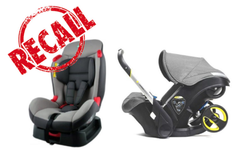 Recall Safety Concerns For Infant And Child Car Seats Sold In