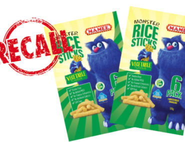 mamee monster rice sticks recall