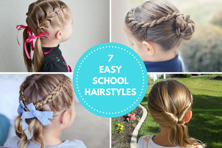 7 Easy Back to School Hairstyles For Girls (PS They're Hat Friendly )