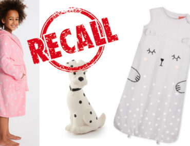 Cotton On Kids sleeping bag recall