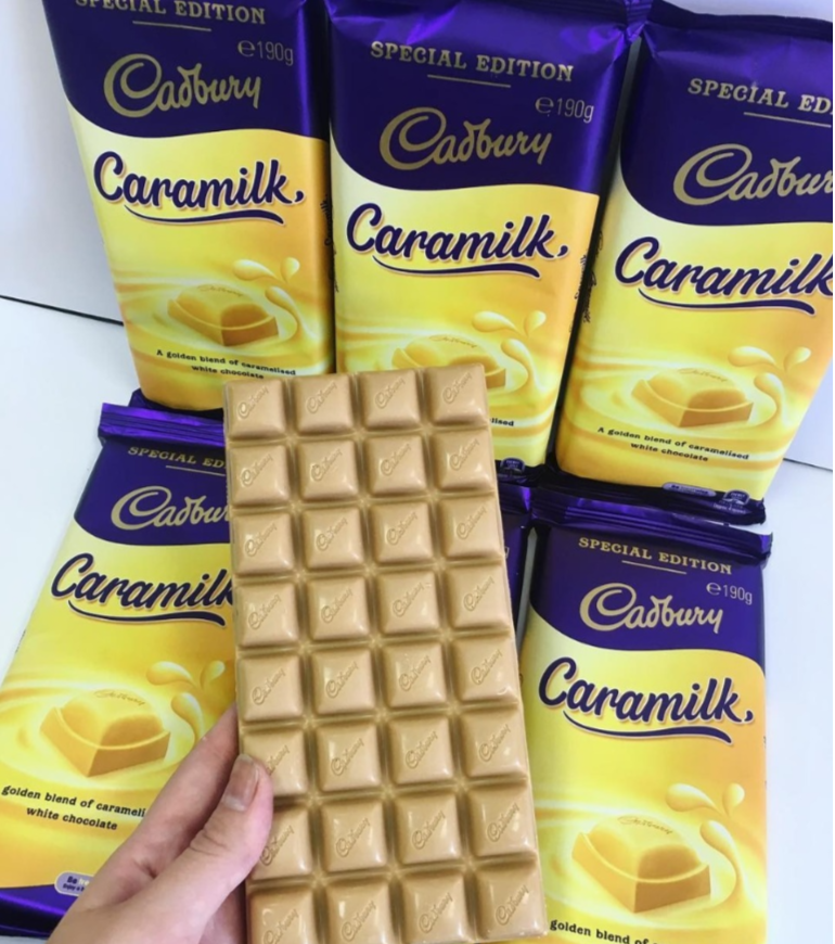 Caramilk chocolate bars