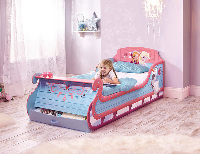Frozen-toddler-bed