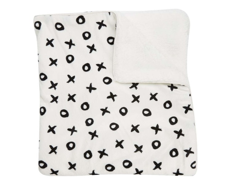 kmart baby shower gifts - stroller blanket