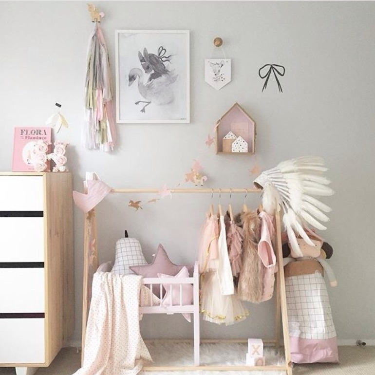 Kmart Nursery Wardrobe Hack