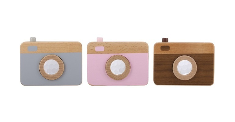 Kmart wooden toy cameras