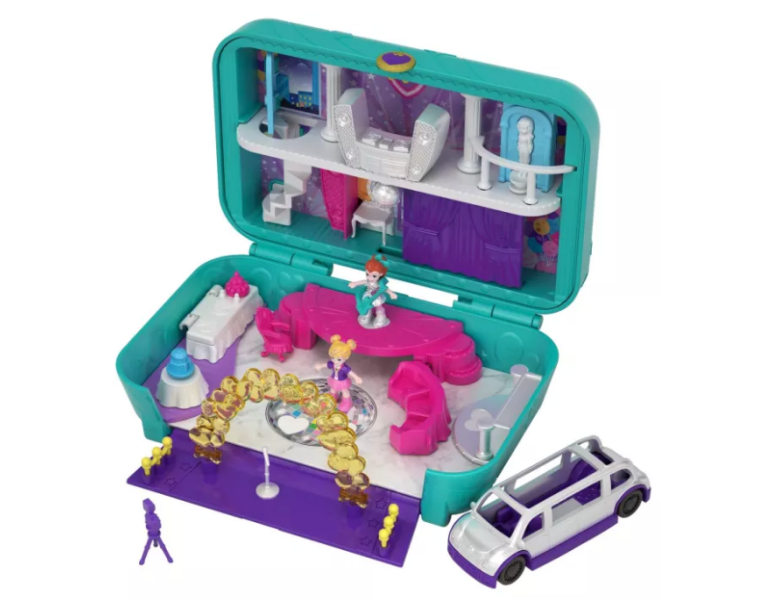 polly pocket return studio set