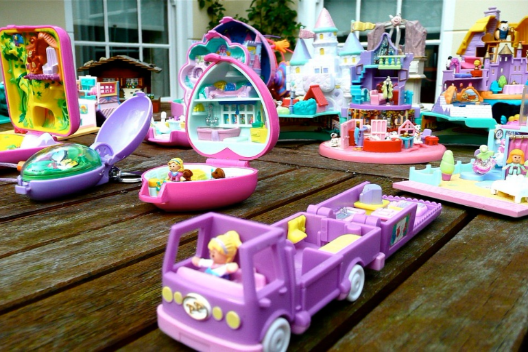 valuable childhood toys polly pocket collection