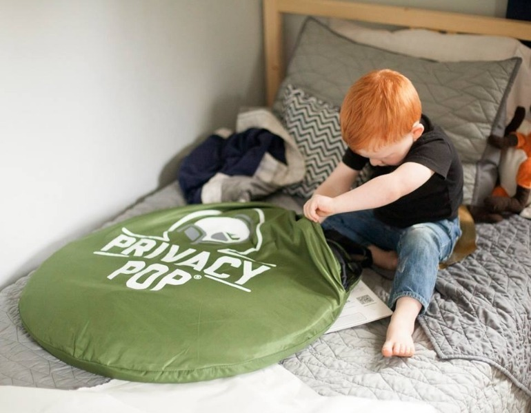 how to keep young kids in a tent