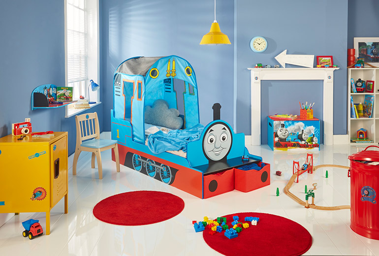 Thomas-the-Tank-Engine-Toddler-Bed toddler beds