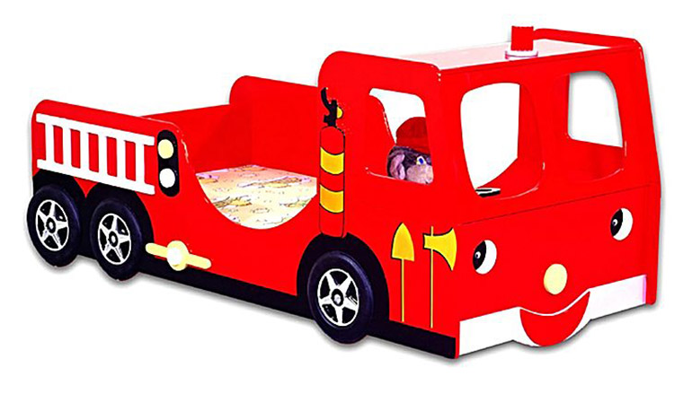 Zanui-Fire-Engine-Single-Toddler-Bed