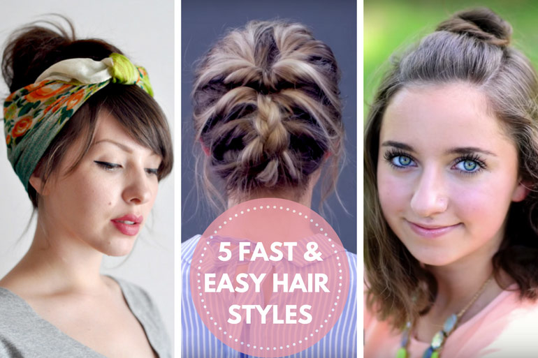 fast and easy mum hair styles
