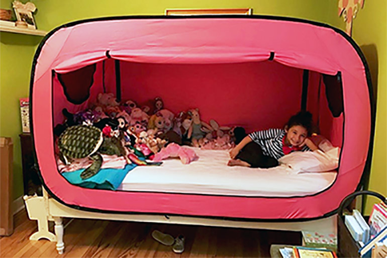sleep solutions bed tent