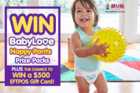 BabyLove nappy competition