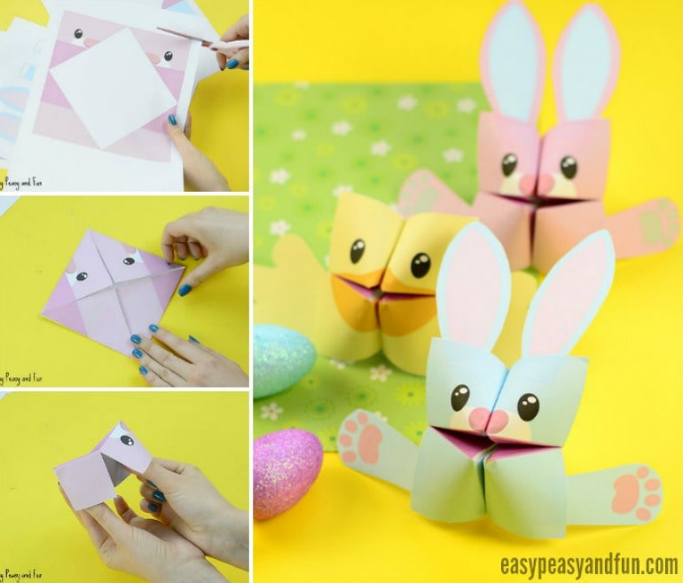 Easter printables crafts