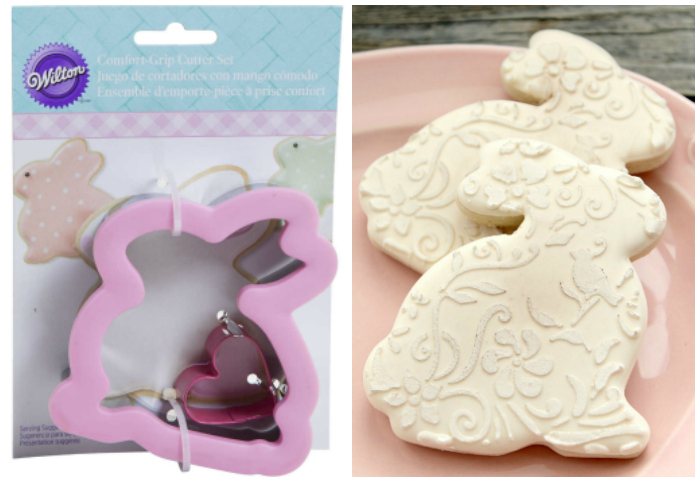 Wilton Sitting Bunny Cookie Cutter Set