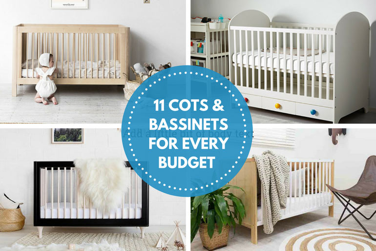 best cots and bassinets on a nursery budget