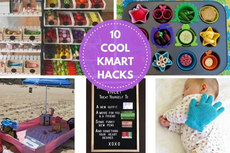 40 Awesomely Cool Kmart Hacks That All Parents Will Love Mum Central Simple Cheap Sewing Machines Kmart