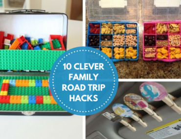 clever family road trip hacks
