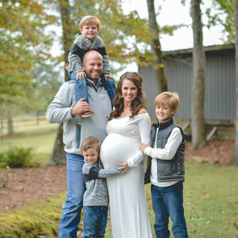 waldrop family pregnant with sextuplets