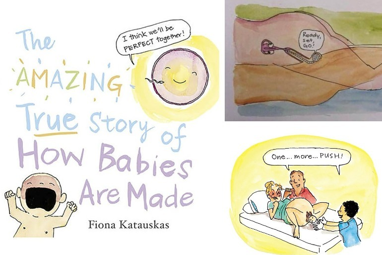how babies are made book