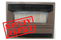 Vulcan gas heater carbon monoxide danger
