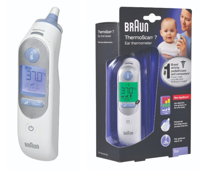 How to choose a thermometer braun thermoscan 7