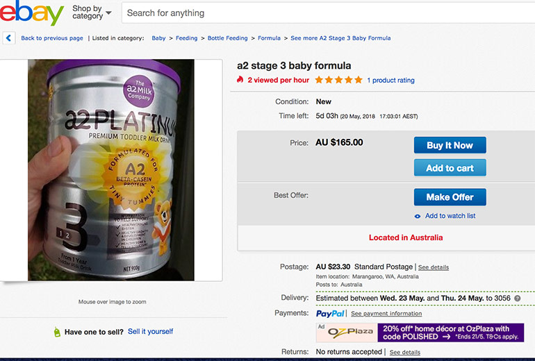 baby formula for sale on eBay