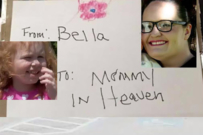 Post Office Mails Birthday Cake to Heaven for Little Girl Who Lost Her Mum