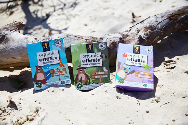 Byron Bay Cookie Company Kids Wildlife Biscuits