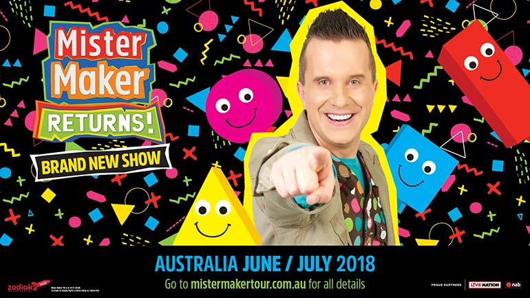 mister maker returns australia