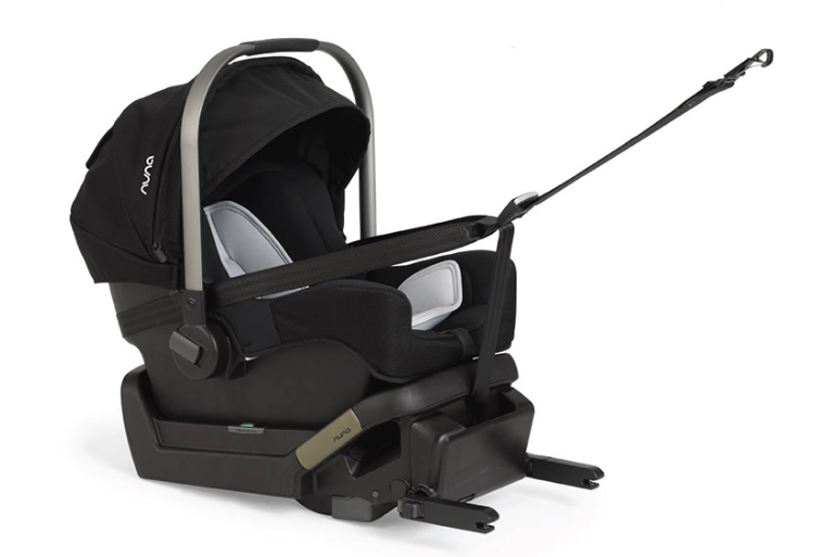 Nuna Klik child car seat rated best car seat in child car seat safety crash tests
