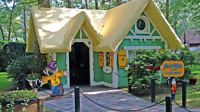 Storybook land - Snow White's cottage