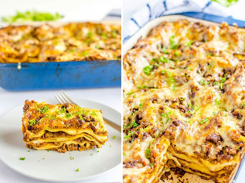 lasagne with hidden vegetables