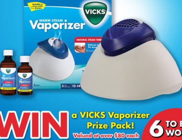 win a vicks steam vaporizer