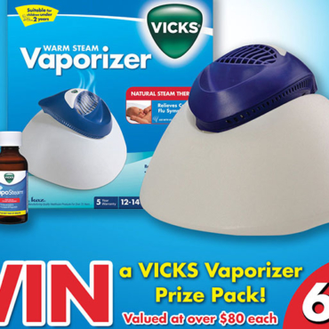 Children's Cold and Flu Myths BUSTED Plus Win a Vicks Steam Vaporizer