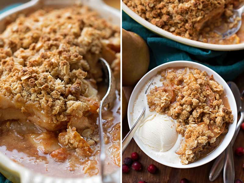 pear crumble