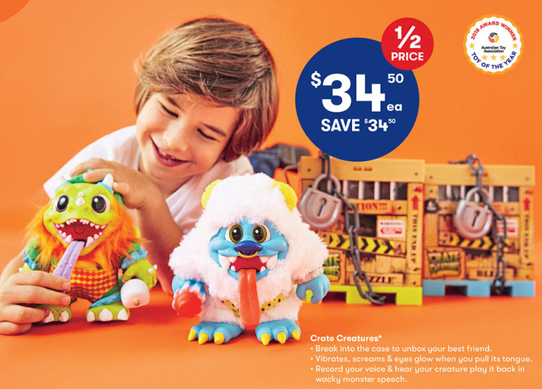 big-w-toy-sale-crate-creatures